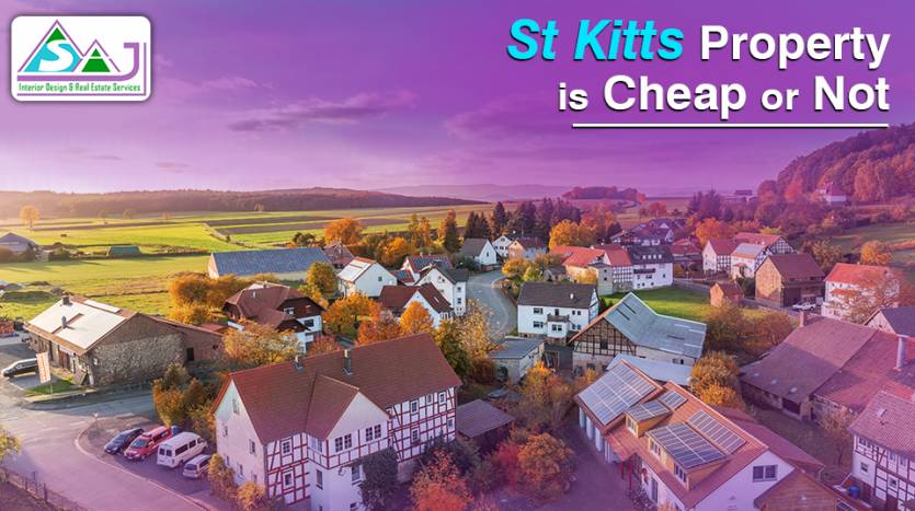 St Kitts Property is Cheap