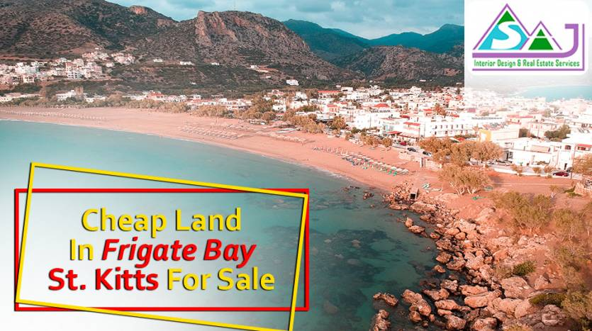 Cheap Land in Frigate Bay, St Kitts for Sale